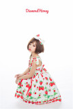 Sweet Strawberry Printed Lolita JSK - In Stock