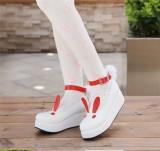 Angelic Imprint- Sweet High Platform Bunny Ears Lolita Shoes