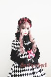 Surface Spell Illusion Realizer Gingham High Waist Lolita OP Dress