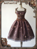 Machinery Puppet~ Punk Style Mini Lolita JSK Dress