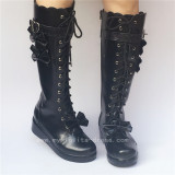 Sweet White Lolita Winter Boots