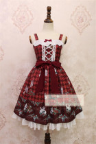 Alice Girl~ Strawberry&Rabbit~ Lolita JSK Dress -out