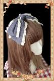 Royal Mural~ Sweet Lolita Printed JSK+Headbow-Ready Made