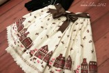 HMHM Little Red Riding Hood Ms.Wolf Note Skirt