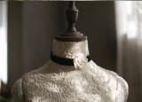 Sweet Dreamer ~Handmade Fabric Camellia Lolita Choker