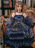 Dead Butterfly Movement ~Luxury Gothic Lolita JSK + Hand Cuffs -Pre-order