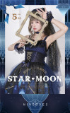 Star and Moon Floating Lights Series Fullset 2 Versions -Ready Made