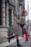 Honey Machien ~Little Detective~  British Style Lolita JSK + Cape Set -Ready Made
