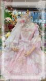 Elpress L ~The Fairy Kingdom Embroidery Lolita OP + Headdress Set -Ready Made