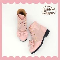 Little Dipper ~Sweet Chocolate Lolita Boots -Ready Made