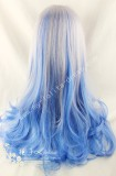 AMO Silver Blue Curls Lolita Wig