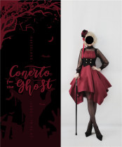 Neverland Lolita ~ Undead Concerto~ Lolita Normal Waist  Coreset JSK Dress -Ready Made