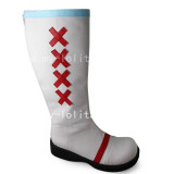 Sweet White Lolita Boots