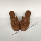 Sweet Light Coffee Lolita Sandals