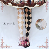 Mu Fish ~Sweet Honey~ Summer Lolita High Socks