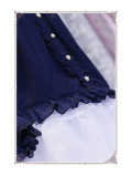 The Secret Key Of Elves~ Elegant Lolita HIme Sleeves Blouse