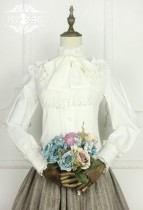 Miss Point~Vintage Elegant Chiffon Lolita Blouse