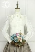 Miss Point~Vintage Elegant Chiffon Lolita Blouse