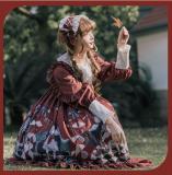 Little Red Riding Hood ~Sweet Lolita OP -Ready Made