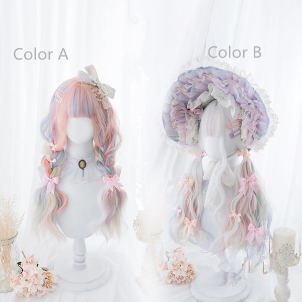 Hengji~the unicorn~66cm Long Curls Lolita Wig~pre-order