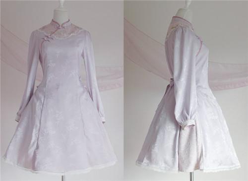 Hole Fairy Guide~ Qi Lolita OP Dress -Ready Made