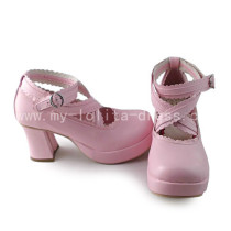 Girl's Sweet Pink Lolita Shoes