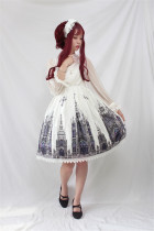Black Cross Church Gothic Lolita JSK Black M In Stock