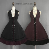 Fran's Oath Goth Assymtrical JSK Dress