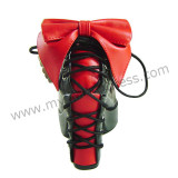 Antaina Black Red Lolita Heels Shoes