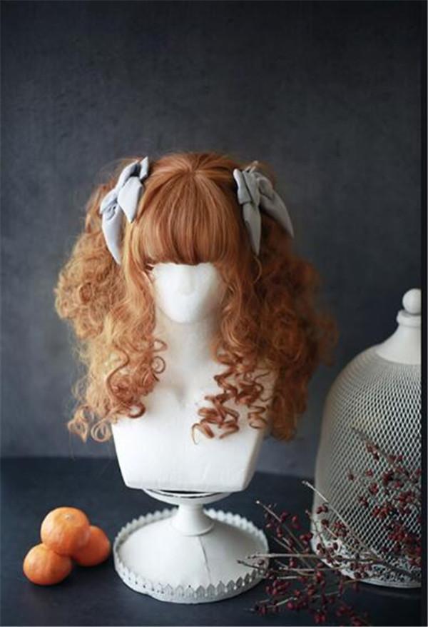 Dreamholic~ Tess of the d 'urbervilles~ Sweet Lolita Curls Wig 55cm