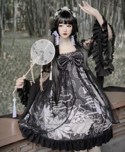 Diamond Honey ~The Butterfly Dream Han Style Lolita OP