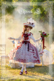 Elpress L ~Christmas F Milky Way Sailing Luxury Elegant Lolita JSK With Detachable Overskirt -Ready Made