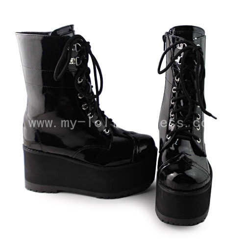Beautiful Black Gothic Boots
