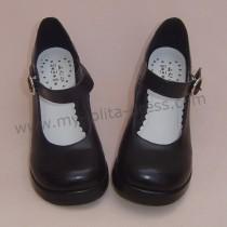 Black Classic Lolita Shoes