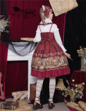 Magic Tea Party ~Mechanical Light Years~ Classical Lolita JSK -Ready Made