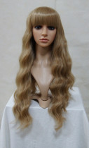 Blonde Classic Wavy Wig for Girls