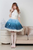Sweet Beautiful Printed Lolita Princess Skirt