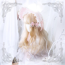 Annabelle~ Cheese Taro Long Curls Lolita Wig
