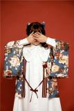 Twin Lily ~Unicolor Lolita Shirt OP -Pre-order Closed