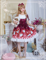 Magic Tea Party ~Summer of White Bear Lolita OP -Ready Made
