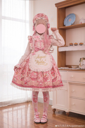August Maiden ~Kittens & Berries Lolita Dresses -In Stock