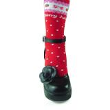 Handmade Flower Lolita Heels Shoes
