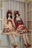 CEL Lolita ~Kaiseki Island Lolita Printed Coat -Ready Made