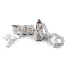 Sweet Bows Belt Lolita Shoes