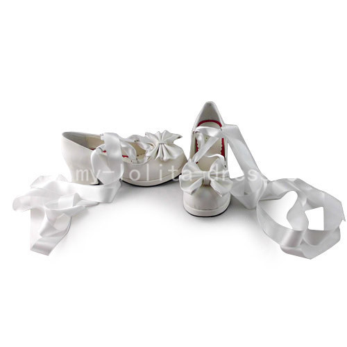 Sweet Bows Belt Lolita Shoes