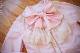 Sweet Gold Trim Bows Lolita Blouse