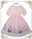 MissCat~ Soft Lolita OP Dress -Ready Made