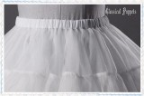 Bell Shape Lolita Petticoat New Version -Ready Made