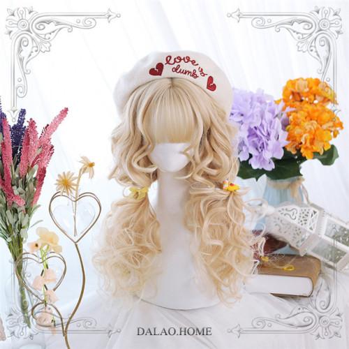 Dalao Home ~ Caramel Milk Tea~ Lolita Wigs 60cm