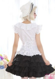 (Replica)Dream of Lolita White Snow Princess Blouse White - Free Shipping-OUT